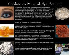 Order Moodstruck Minerals Pigment Powder at https://www.youniqueproducts.com/VickiAdams/products/view/US-21000-00#.VuH25Evd5uY