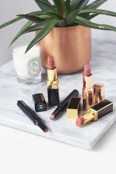 Five Luxe Nude Lipsticks — Beauty by Kelsey