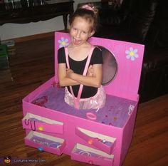 Ballerina in a Jewelry Box - Homemade Halloween Costume  Cute - we need a girl in the family @Jennifer Albertini @Jackie