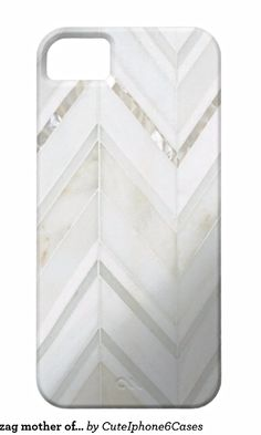 Cool white zig zag mother of pearl nacre oysters Samsung Galaxy S5/ S6/ S7/ Note 4/ iPhone 6/ 6S Plus/ SE/ 5 / 5S/ 5C/ iPad Mini/ Air, Nexus, iPod Touch/ Motorola Razr Case Cover designs ready be purchased or customized