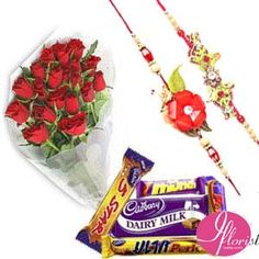 Rakhi Chocolate & Flowers