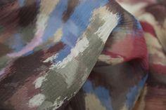 Sakafu Camouflage - Georgette Silk - Tessuti Fabrics - Online Fabric Store - Cotton, Linen, Silk, Bridal & more