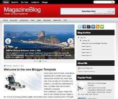 Video portal blogger template templateweblogs pinterest template 15 top free business blogger template accmission Gallery