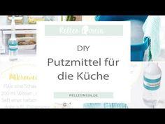Selbst gemachte Putzmittel für die Küche - Rezepte, Ordnungsideen und DIY | relleomein.de