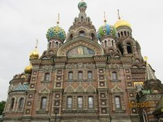 Church of our Savior on Spilled Blood, St. Petersburg, Russia