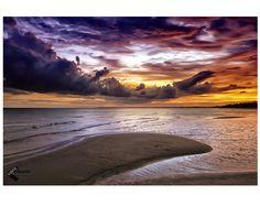 Pantai Nyiur Melambai in Belitung Timur, Bangka Belitung