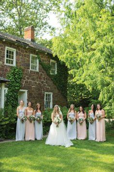 DIY Summer Bride Katie at Willowwood Arboretum, Chester NJ • New Jersey Bride Real Weddings