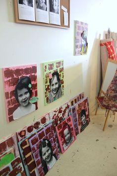children's art studios | Nest Studio: A peak at the children's street art