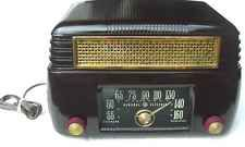 Vintage General Electric Model 202 Bakelite Tube Radio, Parts or Repair
