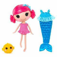 Lalaloopsy Mermaid Hair Changes Color