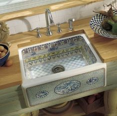 Used Farmhouse Kitchen Sink | More Durable Fireclay Alcott apron-front Kitchen Sinks by Kohler