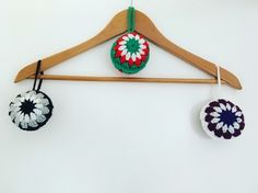 Christmas Crochet Baubles Decorations  £10.00