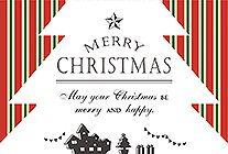 クリスマスシルエットとストライプ柄 Christmas Images, Christmas Design, Christmas Holidays, Christmas Cards, Banner Design, Flyer Design, New Year Postcard, Sale Banner, Christmas Fashion