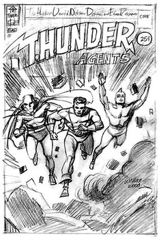 THUNDER Agents by Wally Wood