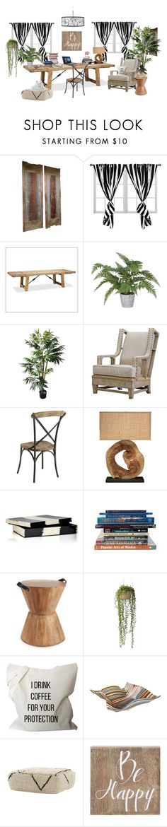 """""""1630"""" by m-lane ❤ liked on Polyvore featuring interior, interiors, interior design, home, home decor, interior decorating, Pottery Barn, Pier 1 Imports, Jamie Young and Madeline Weinrib"""