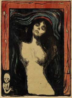 """Edvard Munch is my favourite artist, and this """"Madonna"""" one of his best works."""