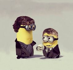 Despicable Sherlock… There are no words.