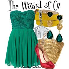 """Inspired by the 1939 American Musical Fantasy Adventure Film """"The Wizard of Oz""""."""