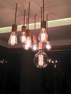 Lampadas de filamento de carbono