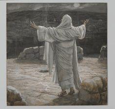 Christ Retreats to the Mountain at Night (Jésus se retira la nuit sur la montagne) : James Tissot : Free Download & Streaming : Internet Archive