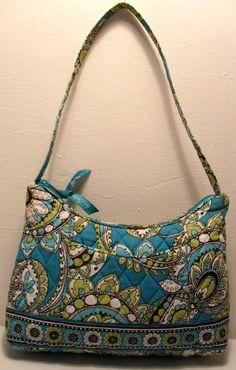 Vera Bradley Retired Peacock Small Molly Handbag SOLD