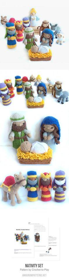 Nativity Set Amigurumi Pattern