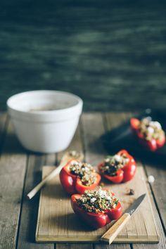 Quinoa Stuffed Peppers | Souvlaki For The Soul