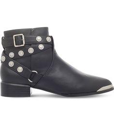 SENSO - Danny studded leather boots | Selfridges.com