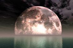 Fullmåne & månförmörkelse i Vattumannen
