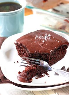 The Best Chocolate Cake! Recipe on Yummly