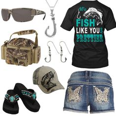Fish Like You Only Prettier Outfit - Clever Shirts - Ideas of Clever Shirts - Fish Like You Only Prettier Outfit Real Country Ladies Cute Cowgirl Outfits, Country Style Outfits, Country Girl Style, Country Fashion, Western Outfits, Country Wear, Southern Outfits, Equestrian Outfits, Cowgirl Boots