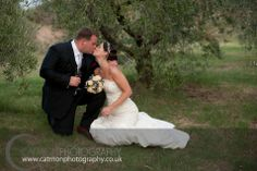 Destination Wedding @ The Lazy Olive in September. Very sweet American couple. The olive grove is very popular & often a must ;) Let yourself be captured with www.catmonphotography.co.uk
