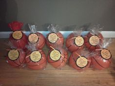 Basketballs for Lucas' boy classmates (Valentine's Day 2012)