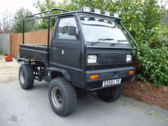 Suzuki Carry  scratch build - Scale 4x4 R-C -