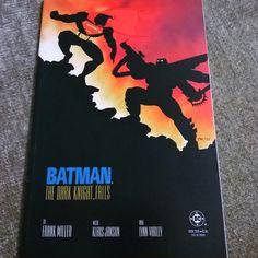 Batman: Dark Knight Returns issue 4! This story by Sin City creator Frank Miller has Batman coming out of retirement to clean up Gotham - and fight Superman. I hope you enjoyed seeing all four issues! #batman! (#darkknightreturns #frankmiller #batmantheanimatedseries #benaffleck #sincity #horror #90s #goth #80s #gothic #darkknight  #gotham #brucewayne #cyberpunk #scifi #superman #millennial #meme #memes  #millennials #90skid  #dccomics #atlanta #atl #igersatlanta #midtownatl…