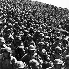 SOUTH KOREA. Kaesong. South Korean soldiers. Located just below the 38th parallel, in 1951 Kaesong was chosen as the sight of the first truc...