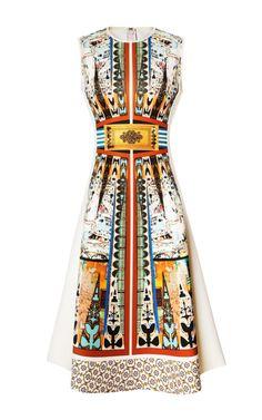 Neoprene Havana Circle Dress by Clover Canyon - Moda Operandi