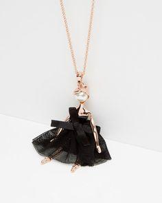f4d02e93a4f10 Ballerina necklace - Rose Gold