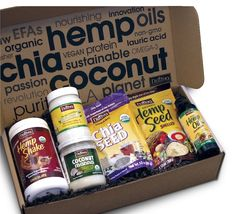 Nutiva Superfood Sampler Pack Giveaway - Check out these amazing organic and non-GMO ingredients! Each pack contains coconut oil, chia seeds, hemp seeds...