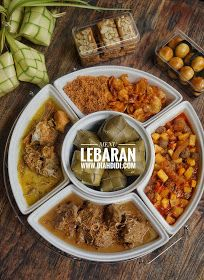 Diah Didi's Kitchen: Menu Lebaran Indonesian Food, Indonesian Recipes, Diah Didi Kitchen, Malay Food, Malaysian Food, Cookie Recipes, Rice Recipes, Kitchen Recipes, Lunches And Dinners