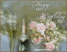 Gifntext is a free online gif creator and editor. Add moving text or images to any gif. Happy Birthday Wishes Photos, Happy Birthday Cakes, Birthday Photos, Birthday Gifs, Birthday Verses, Birthday Cards, La Multi Ani Gif, Happy B Day, Beautiful Roses
