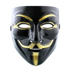 Cool Cosplay Mask V For Vendetta Mask Anonymous Movie Guy Fawkes Halloween Masquerade Party Face Costume Accessory Black Halloween Masquerade, Masquerade Party, Halloween Cosplay, Cosplay Costumes, Halloween Costumes, Vendetta Maske, Anonymous Mask, Mask Guy, V For Vendetta
