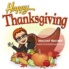"""#HappyThanksgiving #HappyTurkeyDay #HappyParadeDay #HappyFootballDay #HappyEatTooMuchDay"""