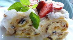 aj z obyčajných palaciniek sa dá pripraviť výborný dezert....