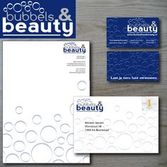 Corporate Visual Identity Bubbels & Beauty   Designed for design pitch