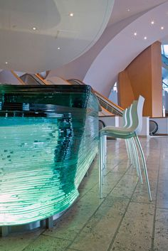 Lobby Bar at Walt Disney Concert Hall, Los Angeles by Belzberg Architects