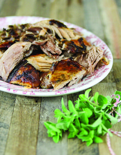 The Paleo Approach Cookbook Preview: Garlic-Roasted Pork Shoulder - The Paleo Mom