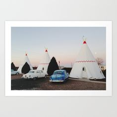 Buy Wigwam Motel by Kevin Russ as a high quality Art Print. Worldwide shipping available at Society6.com. Just one of millions of products available.