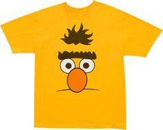 Sesame Street shirts: Bert.