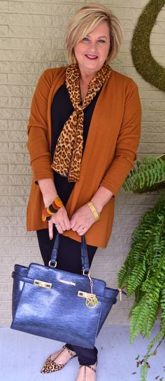 Fashion for over 40, leopard